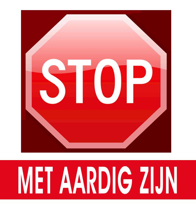 STOP met chronisch aardig zijn